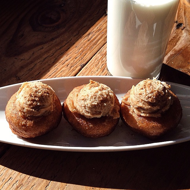 Mt ViewComice Pears doughnuts with milk, STOP IT!photo credit Chris Rod
