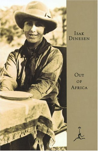 Isak Dinesen is such a great writer and she had a coffee farm in Africa.  I adore how she loved the people who worked her coffee farm.