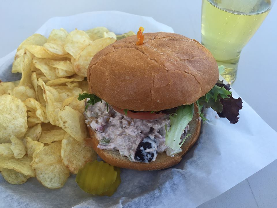 Solera brewery  is featuring our Bing cherries in a Chicken Salad Sandwich! Yes Please!!!