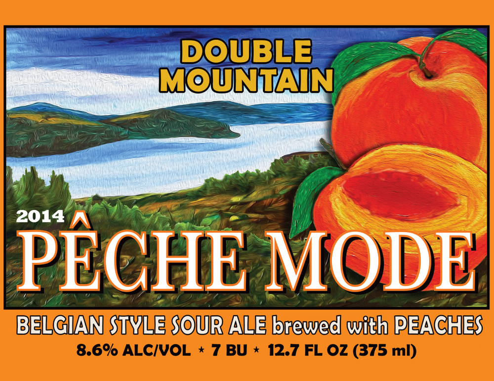Head down to  Double Mountian  and try our delicious collaboration. Peach Sour Beer! Cheers!