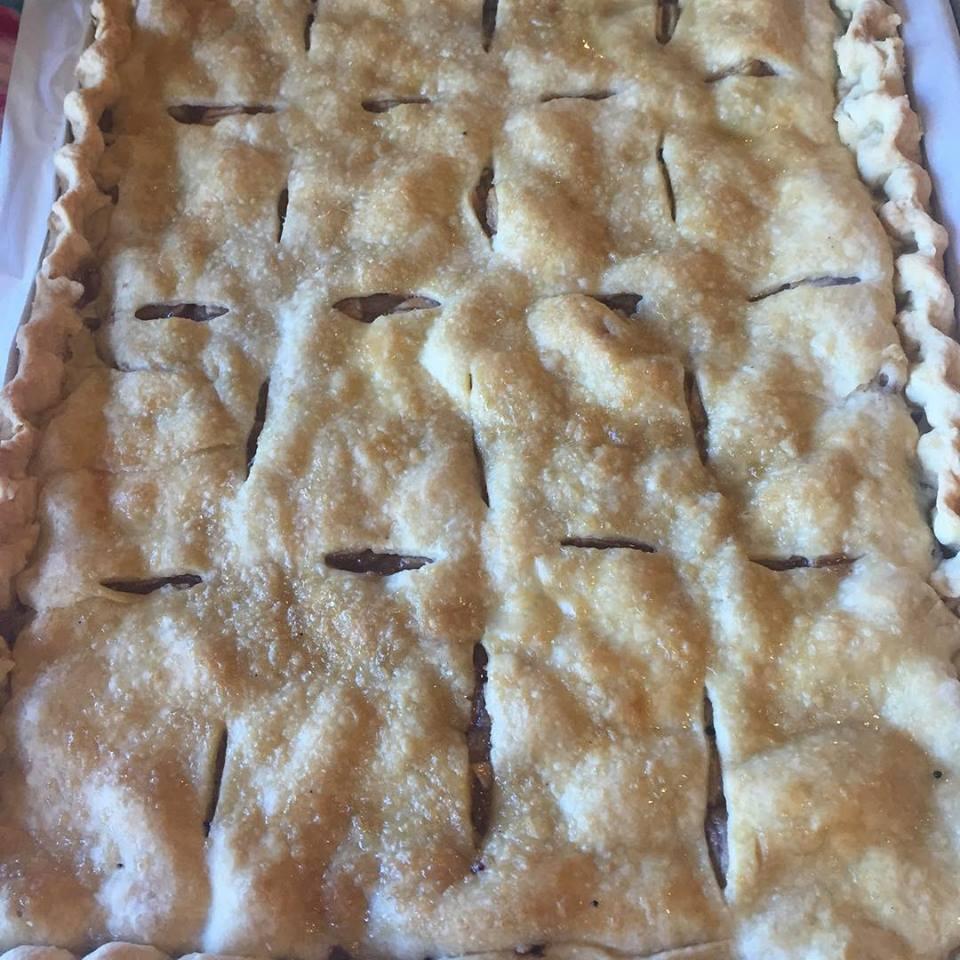 Gravenstein pie
