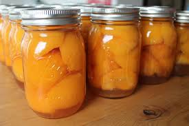 Yes you CAN preserve your peaches for the colder months.