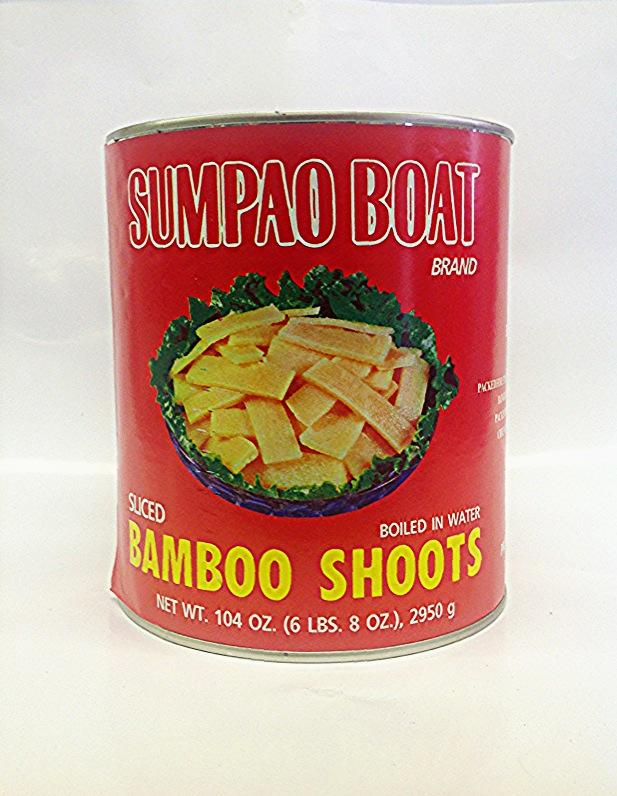 Bamboo Shoot Slice      Sumpao Boat    BBL1605  6x5 lbs    BBL1603 24x20 oz