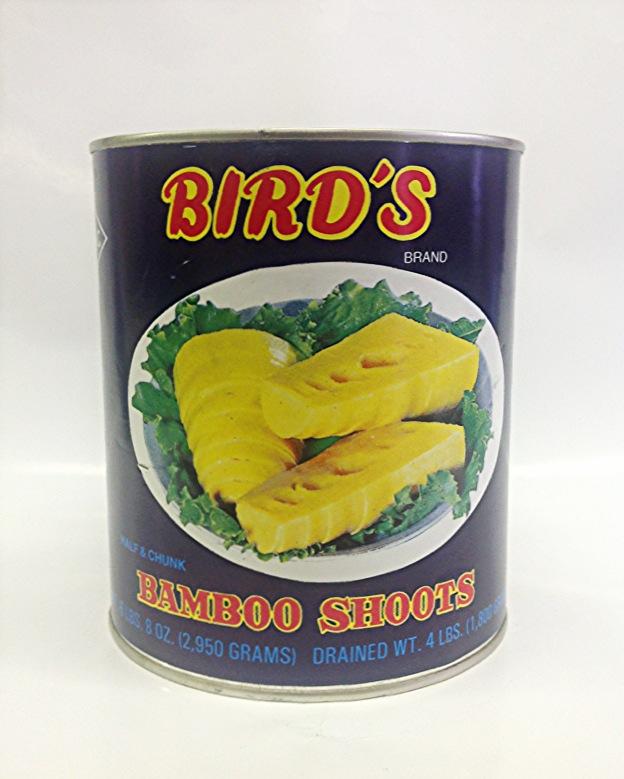 Bamboo Shoot Half    Bird's   BBH1100 24x30 oz  BBH1103 24x20 oz  BBH1105 6x5 lbs