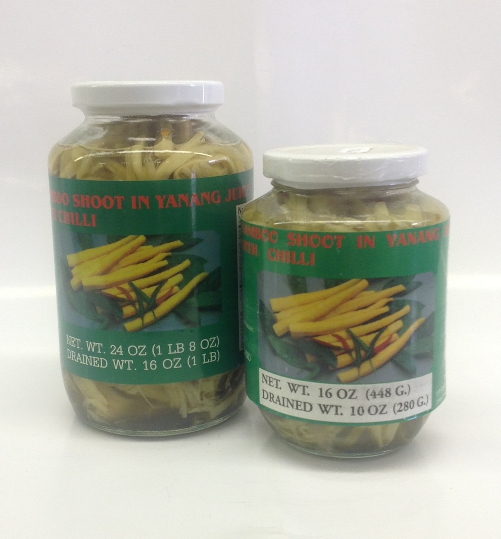 Bamboo Shoot in Yanang with Chilli    Parrot   BBY1360 12x24 oz  BBY1261 24x16 oz