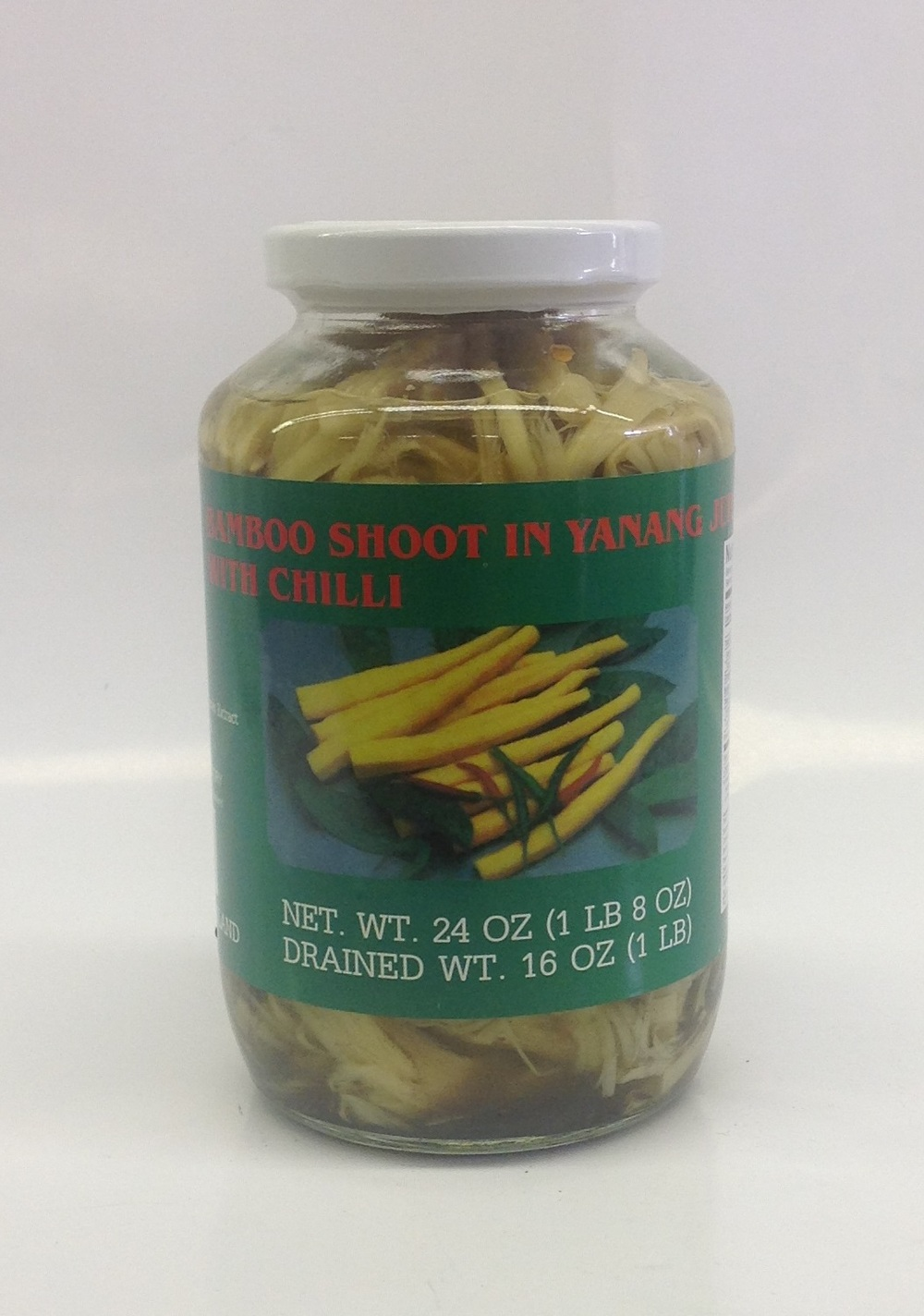 Bamboo Shoot in Yanang with Chilli    Parrot   BBY1260 12x24 oz