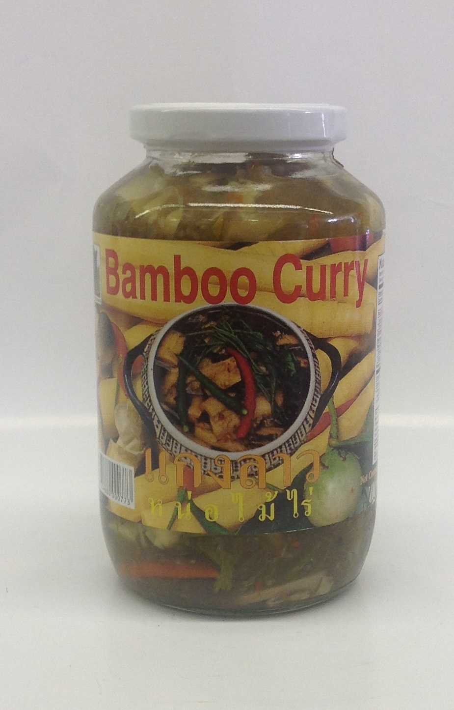 Bamboo Curry  (instant)   แกงหน่อไม้สำเร็จปูป    Singing Bird    BBY1100 12x24 oz