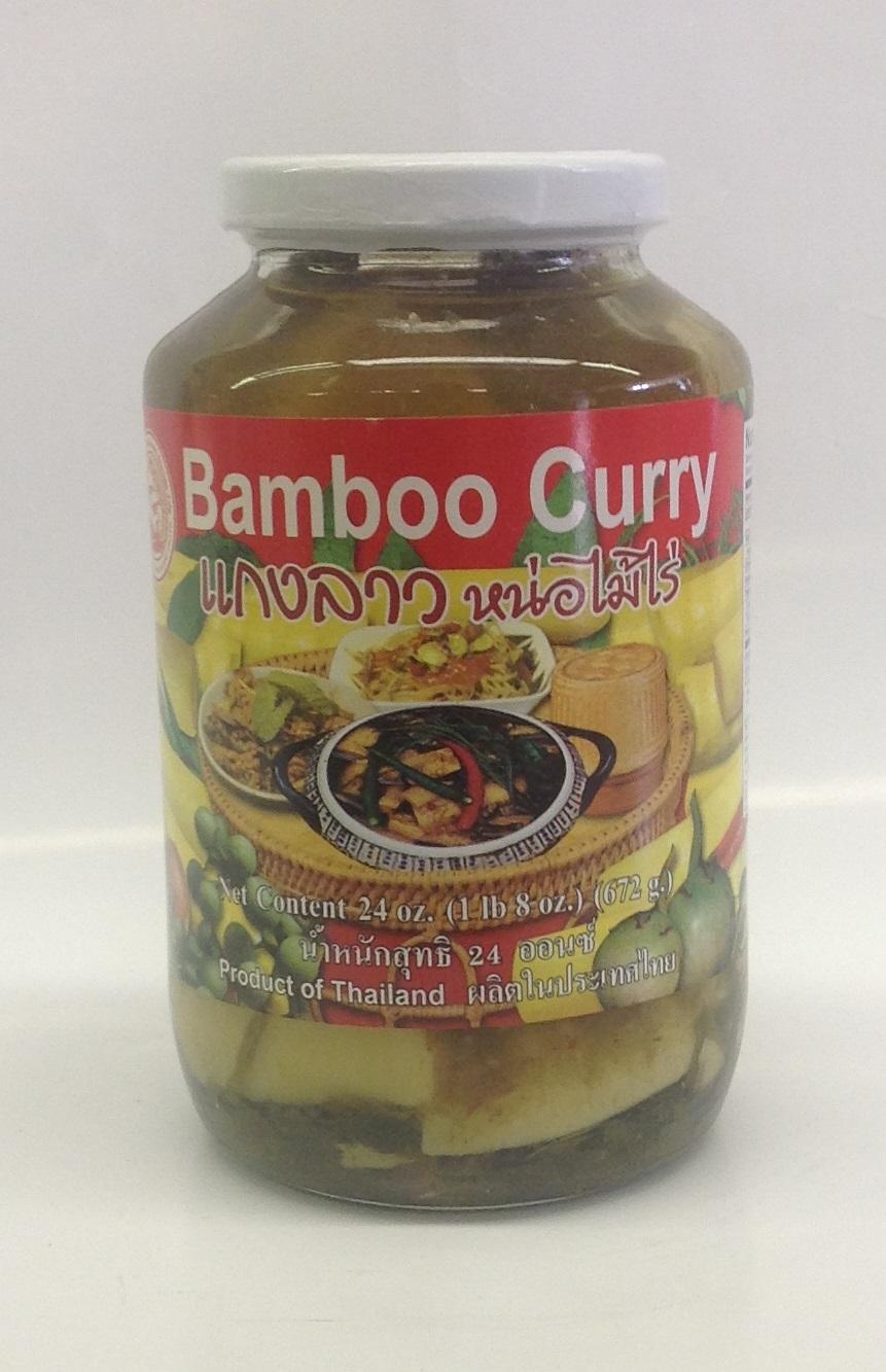 Bamboo Curry Lao Stye (instant)    แกงลาวหน่อไม้สำเร็จรูป    Sumpao Boat    BBY1103 12x24 oz