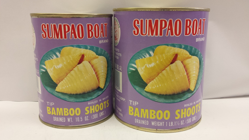 Bamboo Shoot, Tip    Sumpao Boat    BBT1811 24x10.5 oz    BBT1812 24x17.5 oz