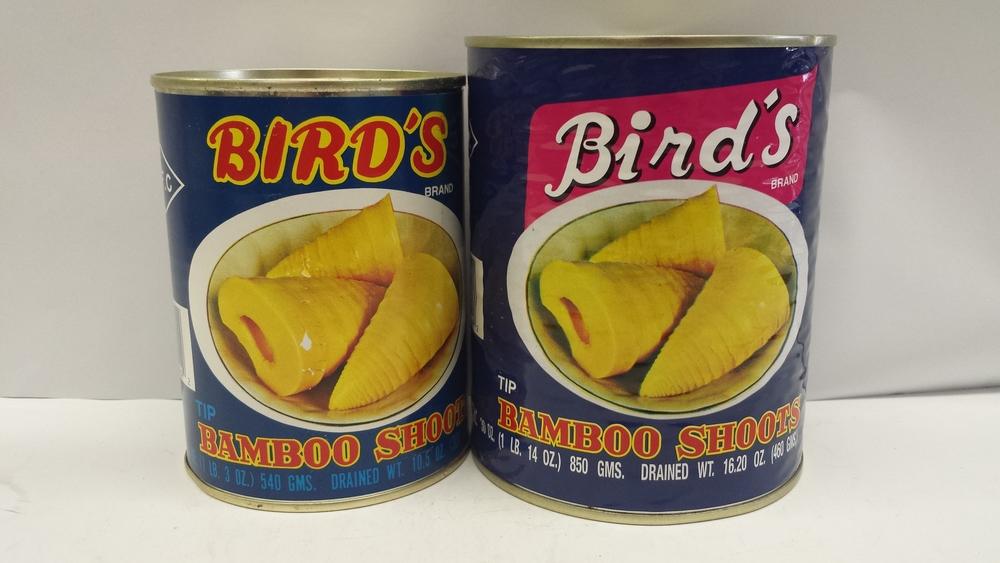 Bamboo Shoot, Tip    Bird's    BBT1103 12x30 oz    BBT1104 24x10.5 oz