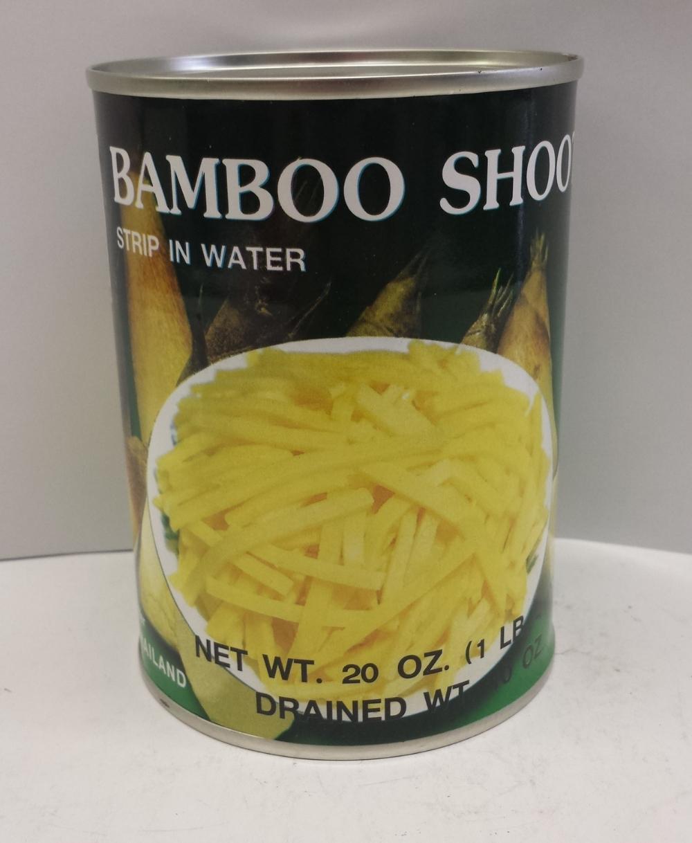 Bamboo Shoot, Strip in Water    Singing Bird    BBS1109 24x20 oz    BBS1110 6x5 lbs