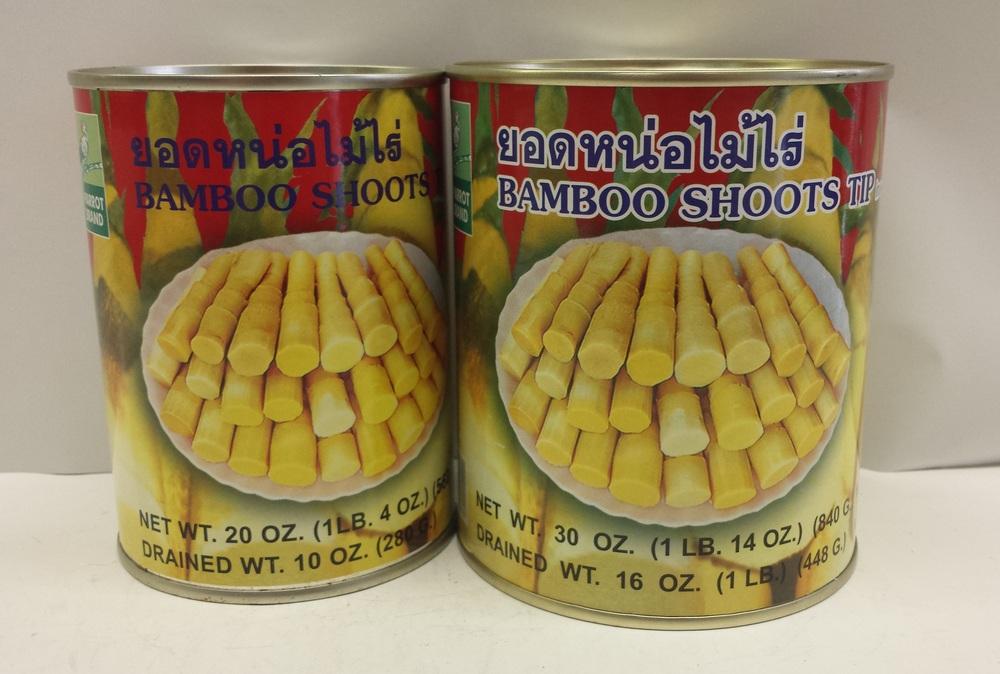 Bamboo Shoot, Tip (Red)    Parrot    BBT1509 24x30 oz    BBT1600 24x20 oz