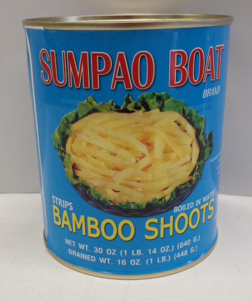 Bamboo Shoots, Strip    Sumpao Boat    BBS1108 24x30 oz
