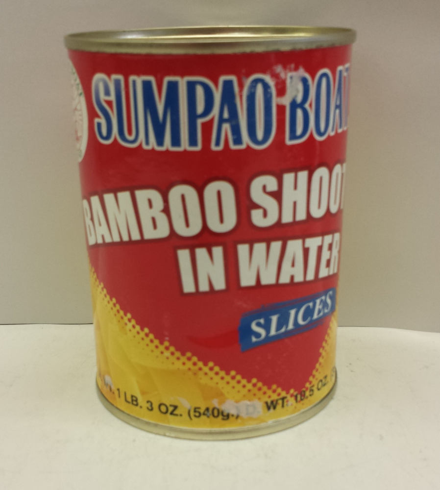 Bamboo Shoot, Slices in Water    Sumpao Boat    BBL1603 24x20 oz
