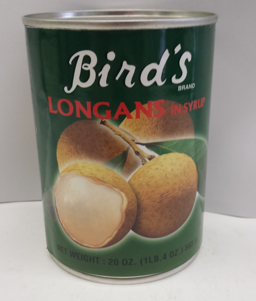 Longan in Syrup    Bird's   FC14302 24x20 oz