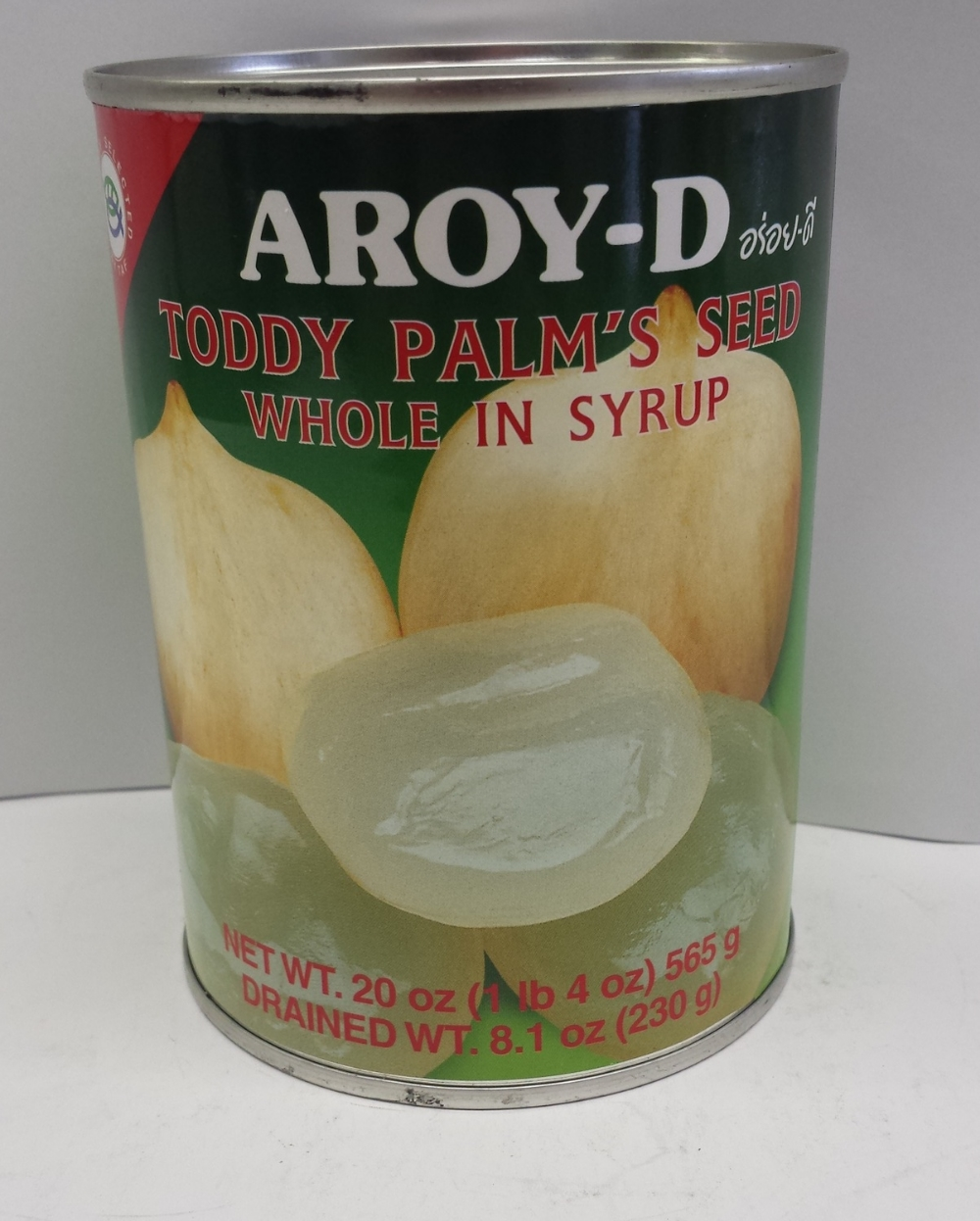 Toddy Palm's Seed Whole in Syrup    Aroy-D   FC17207 24x20 oz