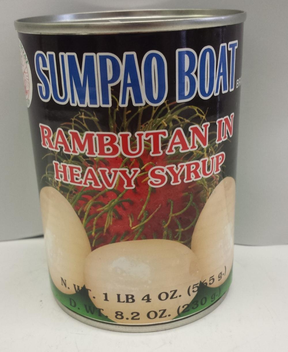 Rambutan in Heavy Syrup    Sumpao Boat   FC16297 24x20 oz