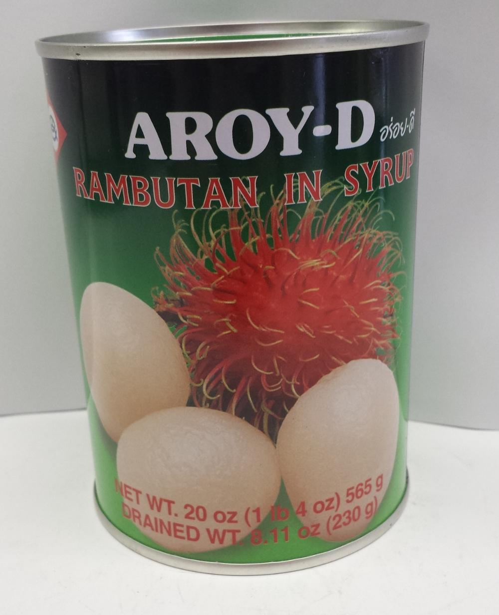 Rambutan in Syrup    Aroy-D   FC16300 24x20 oz