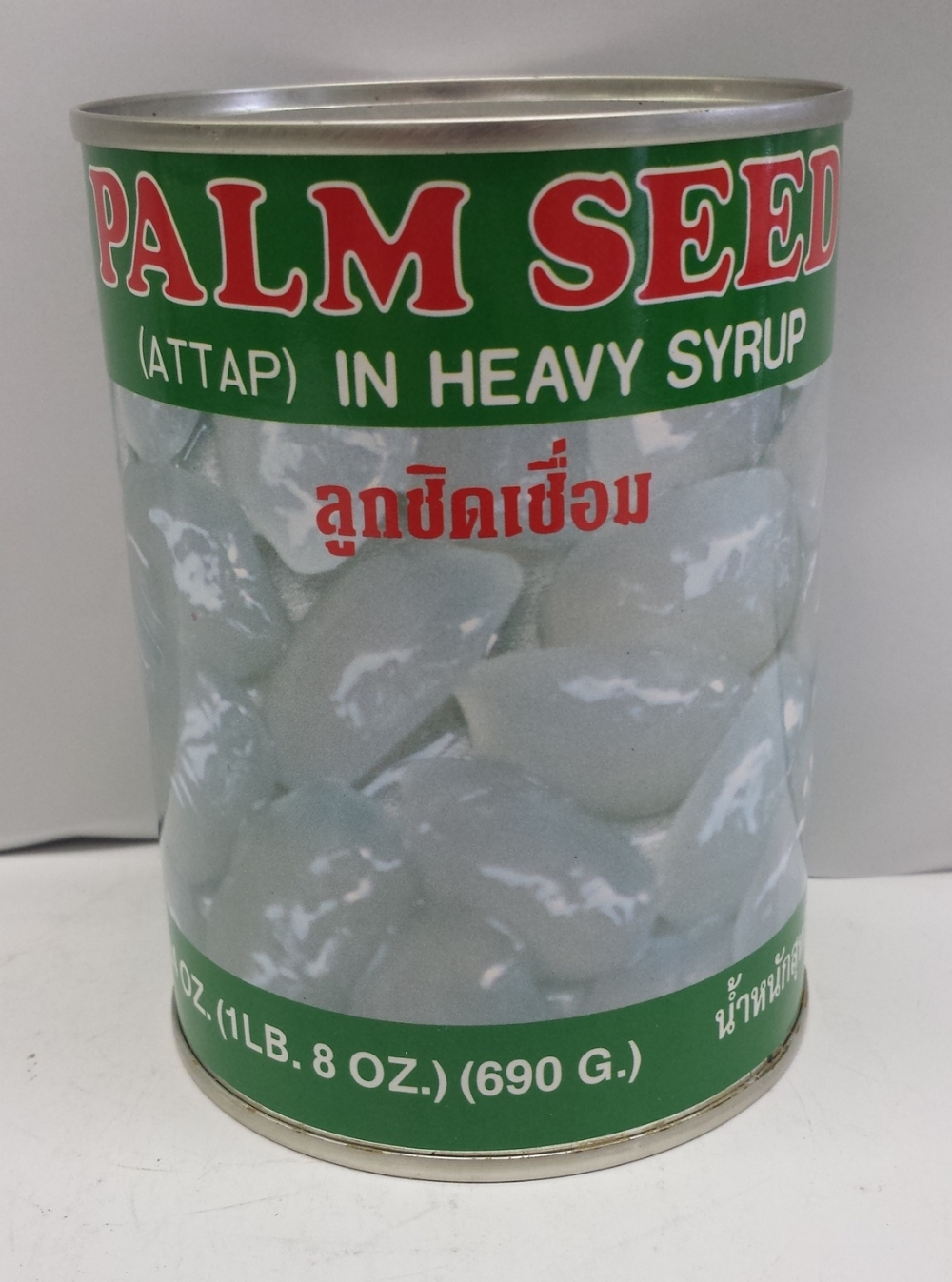 Palm Seed (Attap) in  Heavy Syrup   Singing Bird   FC16100 24x24 oz