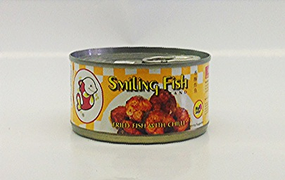 Fried Sardine with Chili    Smiling Fish   FR17701 48x3 oz