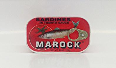 Sardines in Tomato Sauce (Marock)    Morocco   MC17125 100x4.37 oz