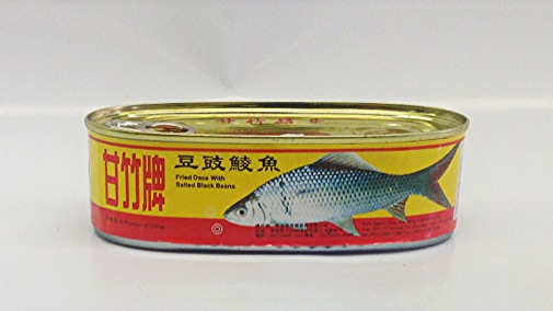 Fried Dace Fish with Black Bean    Ganzhu   FR11480 48x8 oz
