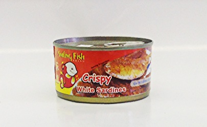 Crispy White Sardines,   Fried    Smiling Fish   FR18120 48x1.7 oz