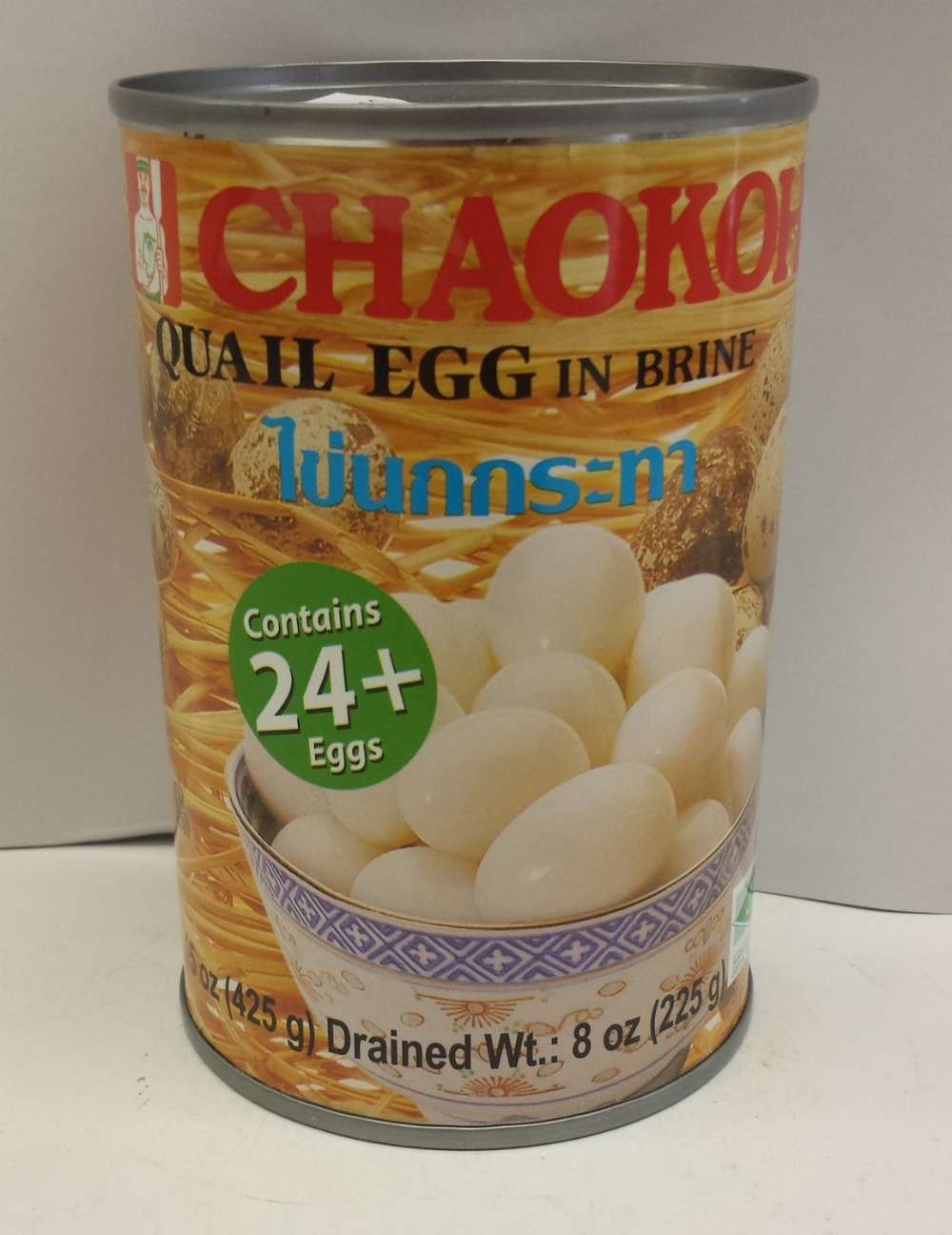 Quail Egg in Brine    Chaokoh   MC16201 24x15 oz