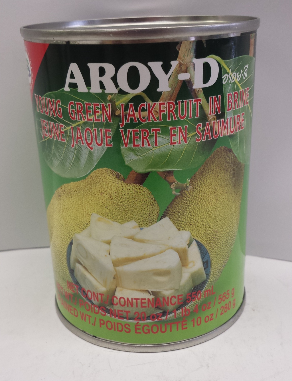 Young Green Jack fruit    Aroy-D   VC19093 24x20 oz