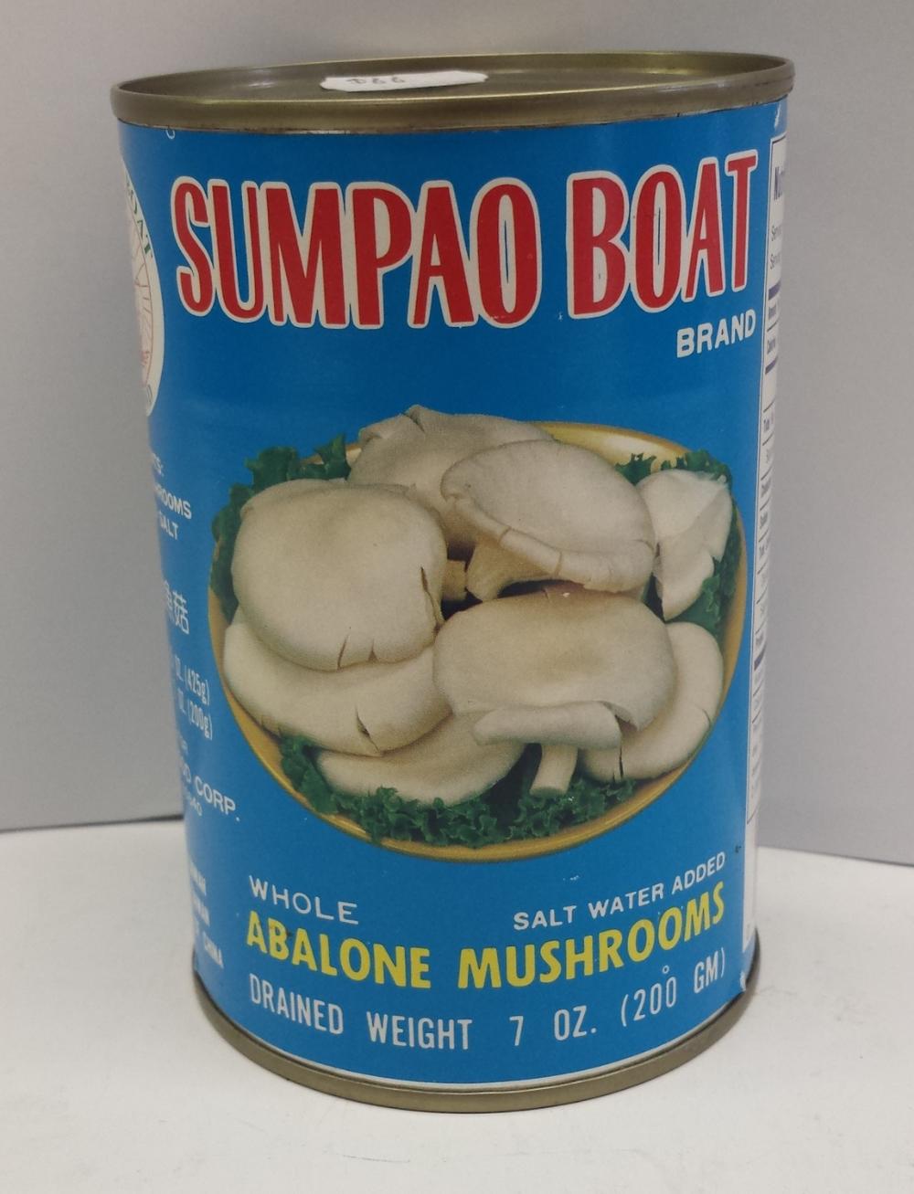 Abalone Mushroom    Sumpao Boat   MU11105 24x15 oz