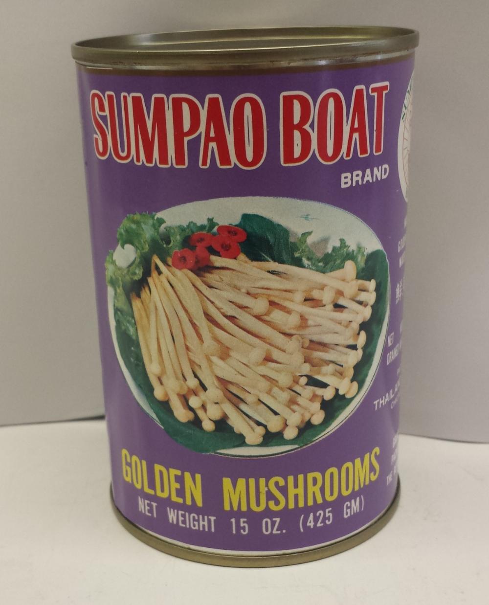 Golden Mushroom    Sumpao Boat   MU13102 24x15 oz
