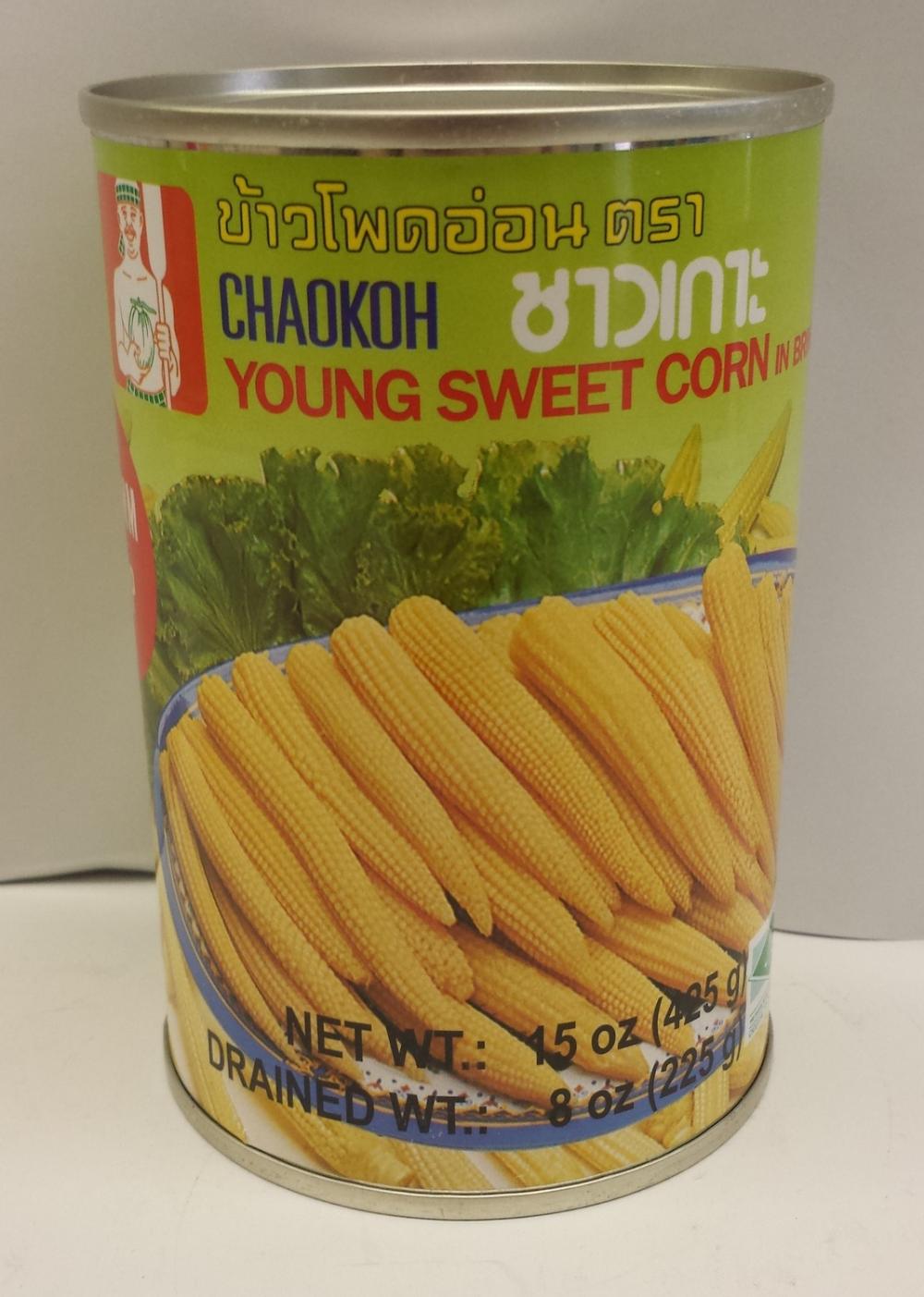 Young Sweet Corn    Chaokoh   VC19119 24x15 oz