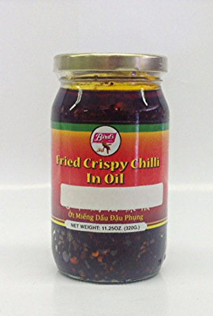 Fried Crispy Chilli in Oi l   Bird's   CH16999 24x320 g