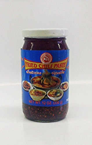 Fried Chili Paste    Sumpao Boat   CH11765 24x12 oz  CH11770 12x12 oz