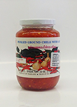 Pickled Ground Chilli w/ Garlic   Bird's   PK13112 24x16 oz