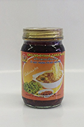 Ground Chilli & Garlic in Oil   Double Sea Horse   CH11100 24x8 oz