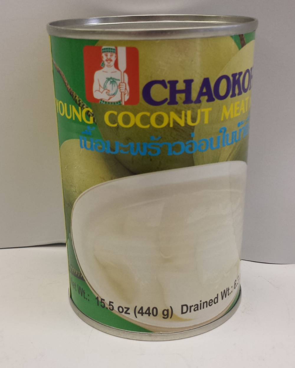 Young Coconut Meat in   Syrup    Chaokoh   DK19099 20x15 oz
