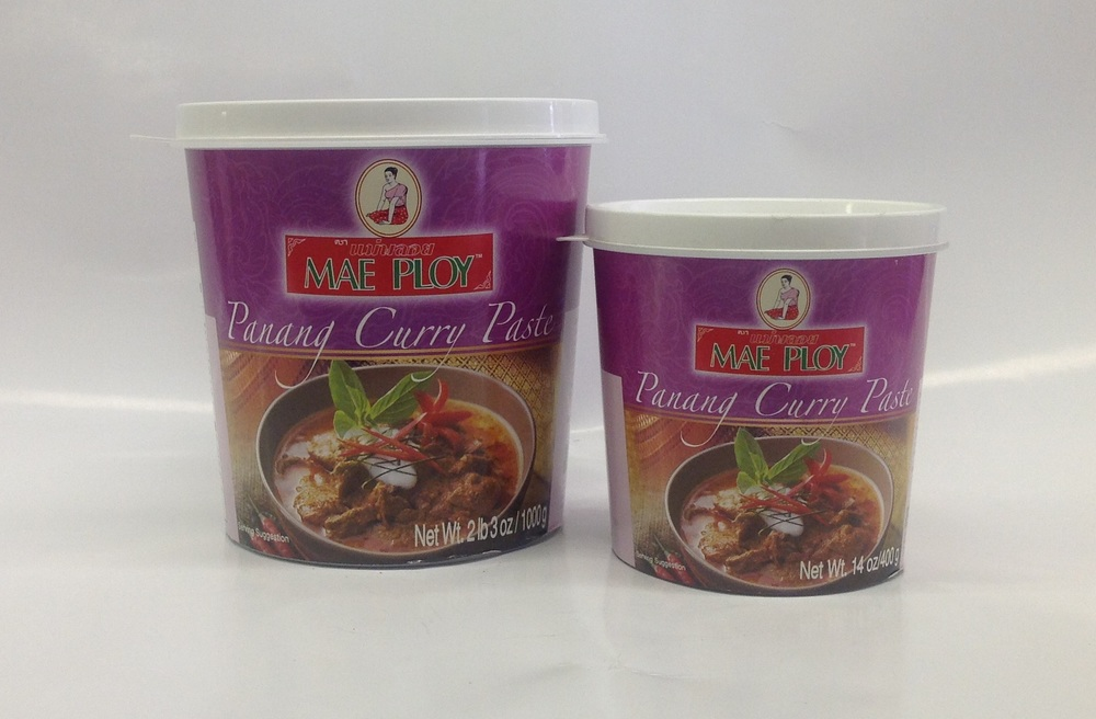 Curry Paste (Panang)    Mae Ploy   CR16605 24x14 oz  CR16606 12x35 oz