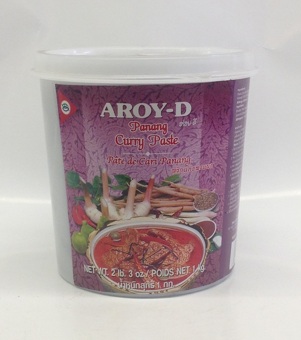 Curry Paste (Panang)    Aroy-D   CR16217 12x2 lbs. 3 oz.
