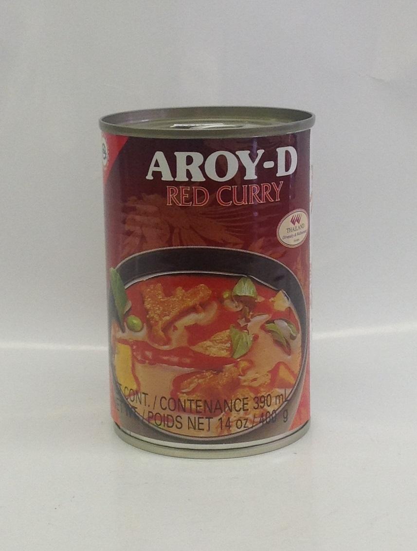 Red Curry (instant)    Aroy-D    แกงเผ็ดสำเร็จรูป    CRC0015 24x400 ml