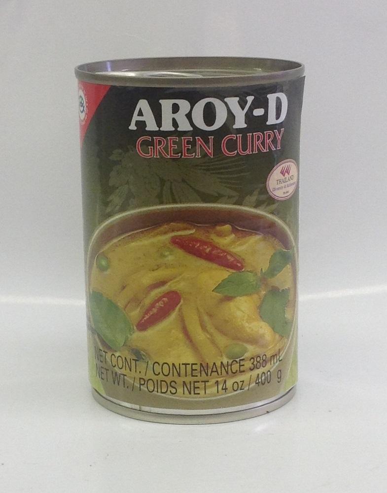 Green Curry (instant)     Aroy-D      CRC00010 24x400 ml    แกงเขียวหวานสำเร็จรูป