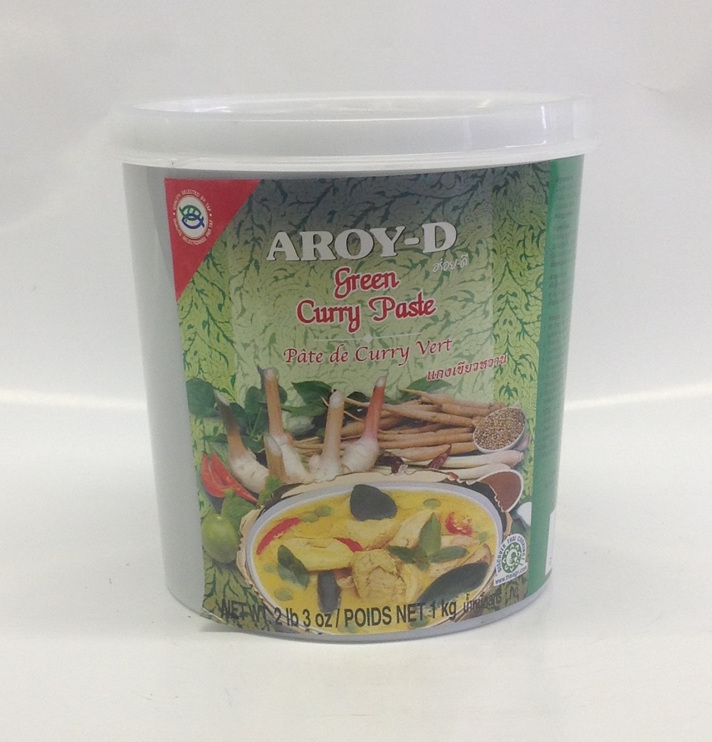 Curry Paste   (Green)    Aroy-D   CR16215 12x2 lbs. 3 oz.