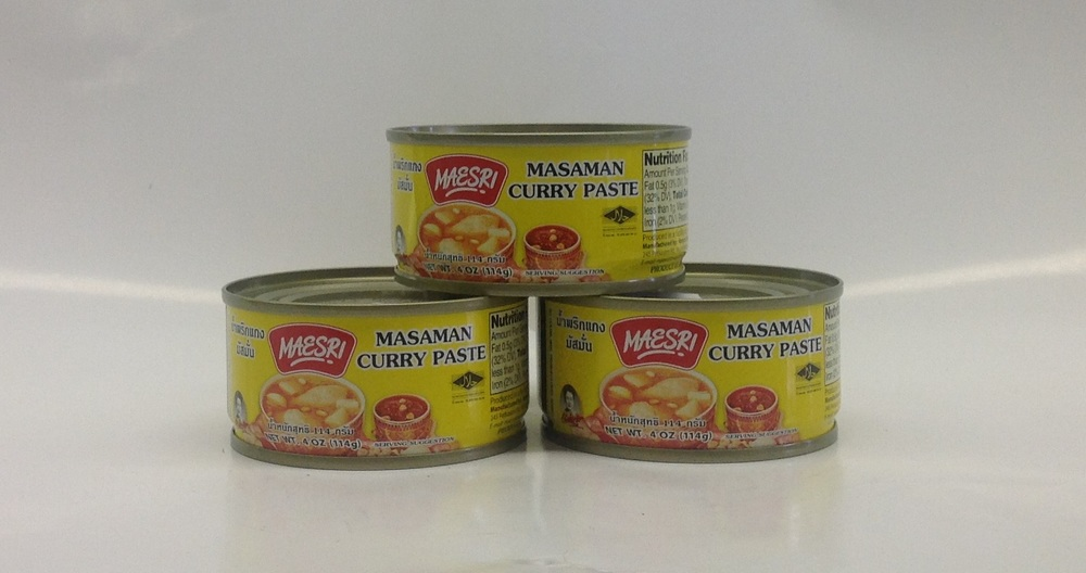 Curry Paste (Masaman)    Mae Sri   CR17490 48x4 oz
