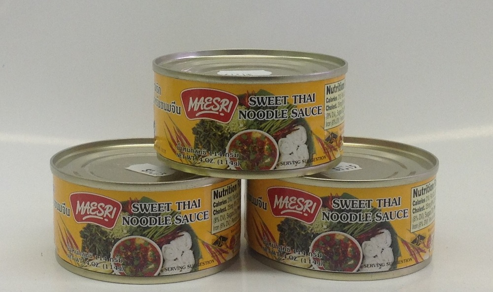 Sweet Thai Noodle Sauce   (Namprig Curry)    Mae Sri   CR17502 48x4 oz