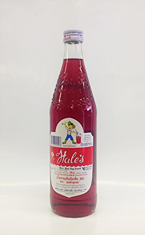 Sala Syrup (Red)   Hale's   SYR1002 12x24 oz