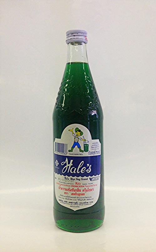 Cream Soda Syrup   Hale's   SYR1001 12x24 oz