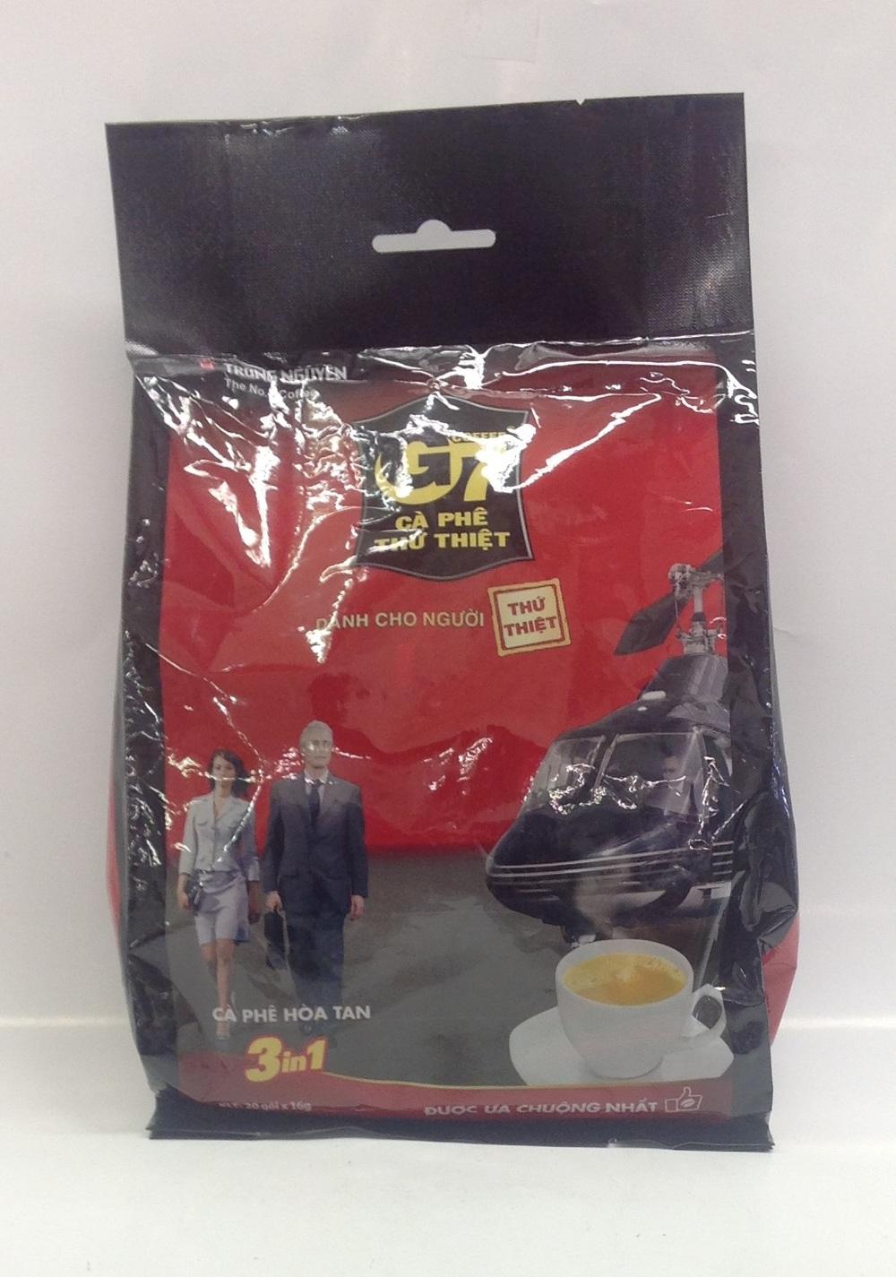 Coffee 3 in 1, Trung Nguyen   G7   DKT1359 24x24x16 g