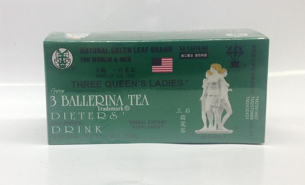 Dieters' Tea (Three Queen's Ladies)   3 Ballerina   DKT1207 24x30 bags  DKT1211 36x18 bags