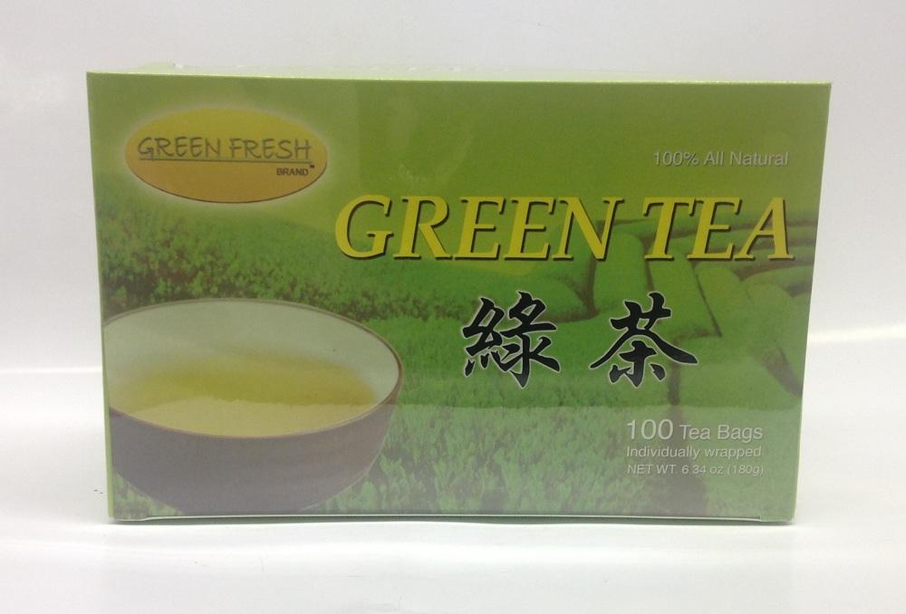 Green Tea   Green Fresh   DKT1233 24x100 bags