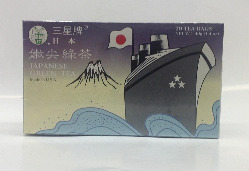 Green Tea (Japanese Style)   3 Stars   DKT1230 36x20 bags